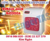 Máy chấm công thẻ giấy rj 2200a/n hàng chính hãng.lh:0916986820 ms.ngân
