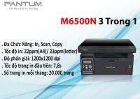 Máy in laser đơn sắc đa chức năng  pantum m6500n