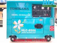 Máy phát điện tomikama gia đình chạy dầu thương hiệu nhật bản