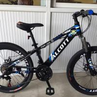 Mua xe đạp địa hình alcott alcott xtr-2300 màu đen hoặc đỏ cao cấp, giá tốt tại