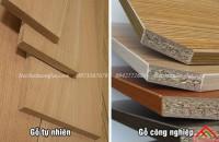 Nên chọn mua giường gỗ tự nhiên hay gỗ công nghiệp
