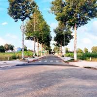 Nền góc 25m lộ ô tô trung tâm hành chính quận