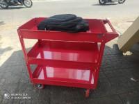 Nhận gia công các loại tủ xe đẩy 3 ngăn, xe đẩy đồ nghề