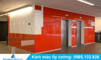 Nhận thi công kính màu ốp tường giá rẻ tại đại trường thành