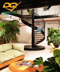 Những mẫu cầu thang xoắn được ưa chuộng nhất hiện nay