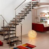 Những mẫu thiết kế cầu thang đẹp cho nhà ống hiện đại