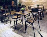 Nội thất cafe, gia đình, eames, tolix, outdoor