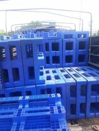 Pallet nhựa xanh long thành 1200x800x180mm rất chắc và nặng 0905681595