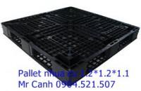 Pallet nhựa mới hàn quốc màu đen, 0904521507