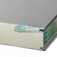 Panel lõi pu tấm phẳng nhà tiền chế dày 75 mm