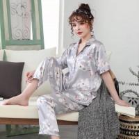 Pijama lụa cao cấp tại hà nội ngắn tay