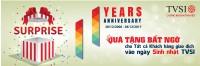 Quà tặng bất ngờ dành cho khách hàng nhân dịp kỷ niệm 11 năm thành lập tvsi