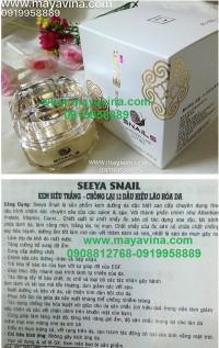 seeya ốc sên - seeya snail ( kem siêu trắng - chống lại 12 dấu hiệu lão hóa da)