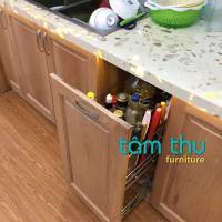 Say đắm mẫu tủ bếp gỗ đẹp giá rẻ tâm thu thi công