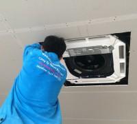 Thi công lắp máy lạnh âm trần chuyên nghiệp - thẩm mỹ đẹp – giá rẻ tại tp.hcm