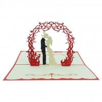 Thiệp cưới 3d đọc đáo - in thiệp cưới 3d handmade