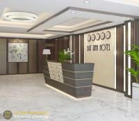 Thiết kế quầy lễ tân khách sạn, văn phòng cao cấp