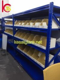 Thông số kĩ thuật kệ trung tải cung cấp cho công ty toyota