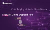 Thông tin về các khoản phí fee khi dùng remitano