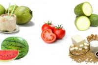 Thực phẩm giải nhiệt cho cơ thể mùa nắng nóng