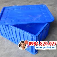 Thùng nhựa bít 3t1 giá rẻ - thùng nhựa công nghiệp - nhựa việt nhật