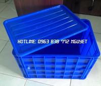 Thùng nhựa chữ nhật 3 tấc 1 - khay nhựa