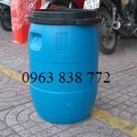 Thùng phi nhựa 50 lít đựng hóa chất | 0963838772