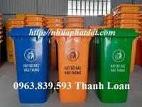 Thùng rác 100l - 120l - 240l - 660l giá rẻ nhất.