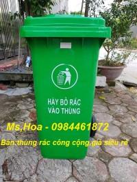 Thùng rác nhựa công nghiệp,gìn giữ môi trường