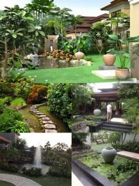 Tiểu cảnh sân vườn đẹp - tiểu cảnh trang trí sân vườn