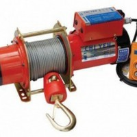 Tời điện kio 200kg: gg-200 cáp 30m dùng điện 1 pha 220v, giá tốt nhất toàn quốc