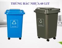 Tổng hợp mẫu thùng rác nhựa lớn 60lit, 120lit, 240lit,..