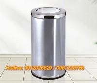 Tổng kho thùng rác bằng inox mẫu lớn đẹp giá rẻ tại..