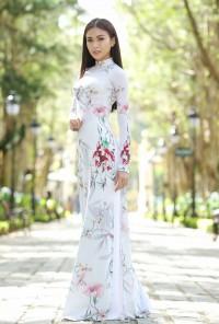 Top 5 mẫu áo dài đẹp dịu dàng
