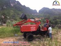 ưu điểm của máy trộn bê tông tự  cấp liệu hồng hà