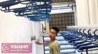 Vinadry tạo sự khác biệt khi là thương hiệu việt đầu tiên sản xuất giàn phơi tự