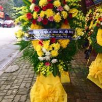 Vòng hoa tang lễ kiểu sài gòn tại nghệ an