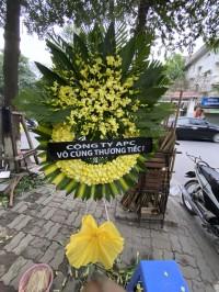 Vòng hoa tang lễ sài gòn tại số 5 trần thánh tông
