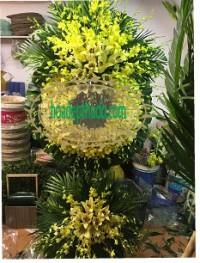 Vòng hoa viếng tang lễ tại quận hoàng mai hà nội