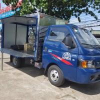 Xe tải jac x5  1.49 tấn thùng cánh dơi 2019
