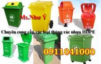 Xả kho thùng  rác, xe đẩy rác giá rẻ tại xưởng!