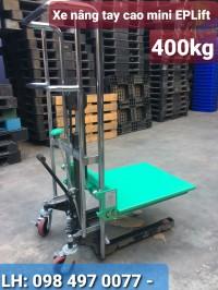 Xe nâng tay cao mini hiệu eplift - đức 400kg