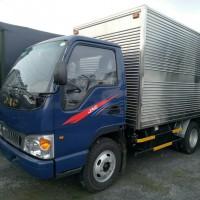 Xe tải euro 2 jac 2,4 tấn thùng dài 3,7 mét