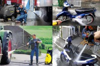 Xịt rửa chuồng trại bằng máy rửa xe cao áp nào là tốt nhất?