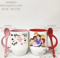 Xưởng in ly sứ tphcm cung cấp quà tặng 20-11 giá rẻ