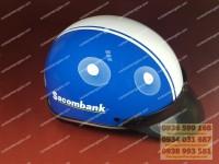 Xưởng sản xuất mũ bảo hiểm giá rẻ,  nón bảo hiểm giá rẻ quà tặng in logo hcm,