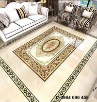 Gạch thảm - thảm gạch trang trí phòng khách
