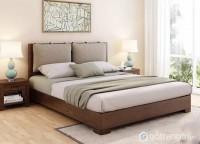 Giường ngủ gia đình gỗ sồi tự nhiên