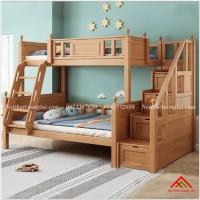 Giường tầng gỗ trẻ em hiện đại