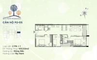 Làm giàu từ mua bán căn hộ 3 phòng ngủ brg diamond residence